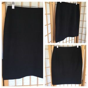 Alfani Black Stretch Career/Lifestyle Skirt SZ S